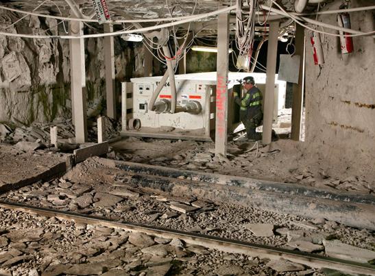 Underground Power Distribution Becker Mining Systems Ag