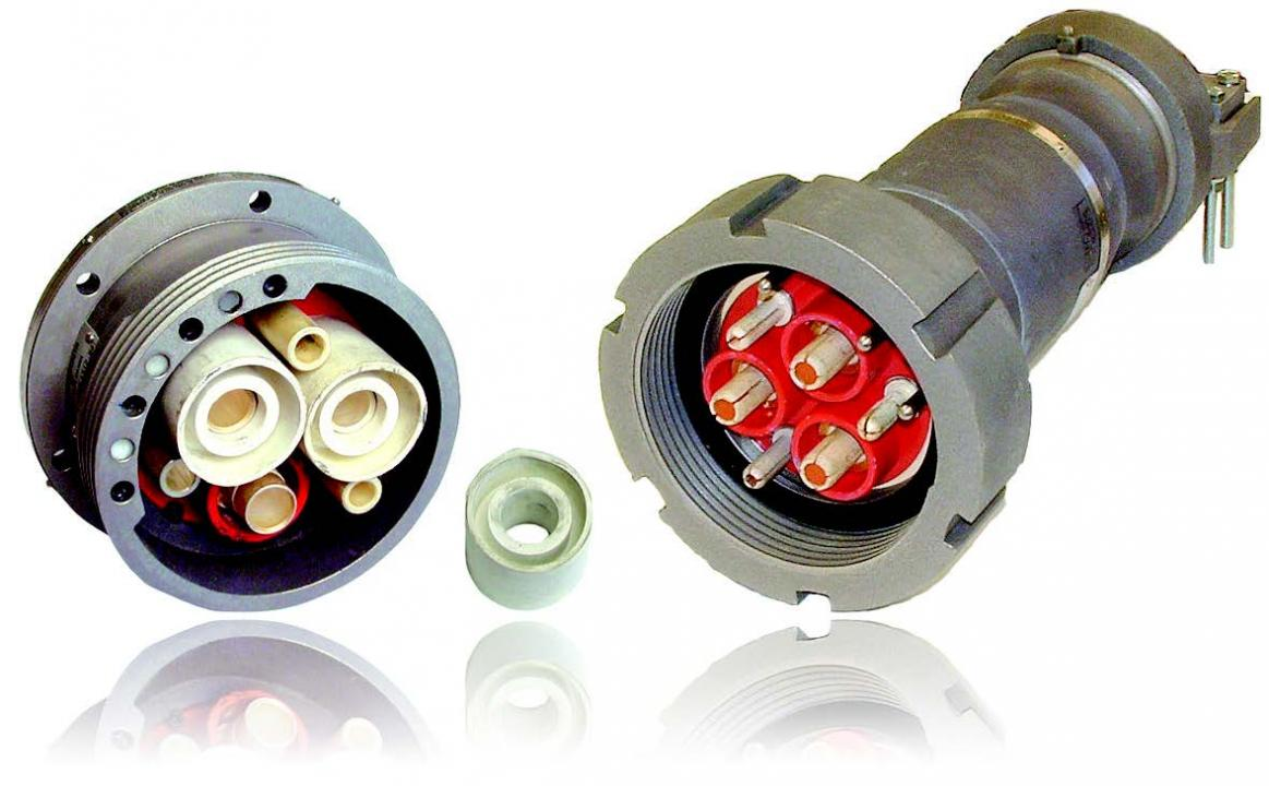 High Voltage Plugs : High voltage plugs receptacles becker mining systems ag